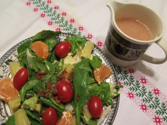 Holiday Spinach Salad with Vinegarette - IMG_1248_1