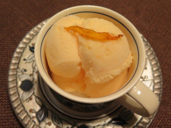 Satsuma Dreamin' Sherbet with Candied Orange Peel - IMG_1264_1