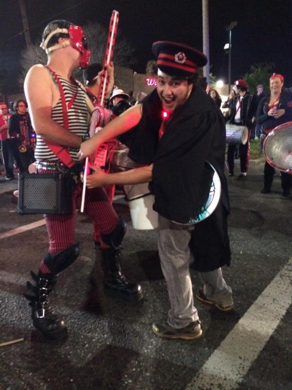 Ben in Chewbacchus Krew in New Orleans Parade