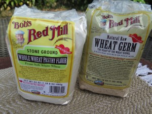 Bobs Red Mill Whole Wheat Pastry Flour and Wheat Germ - IMG_2647_1