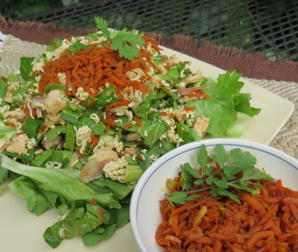 Chinese Chicken Salad with Carrol Relish 2 - IMG_3588_1
