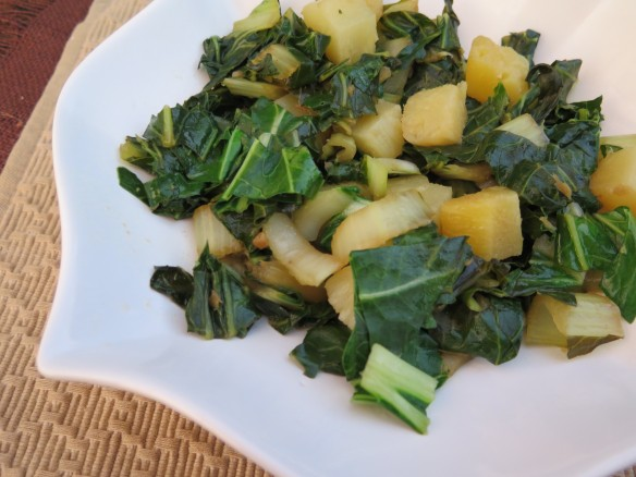 Stir Fry Bok Choy and Pineapple = IMG_3511_1