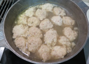 Easy Chicken Soup with Airy Matzoh Balls - 2 - IMG_3823