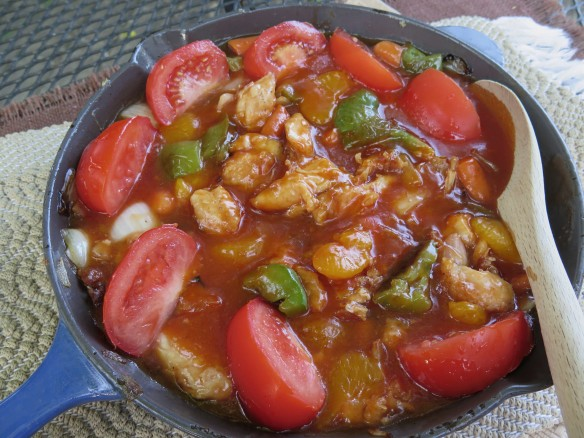 Sweet and Sour Chicken in Skillet - 1 - IMG_4451_1