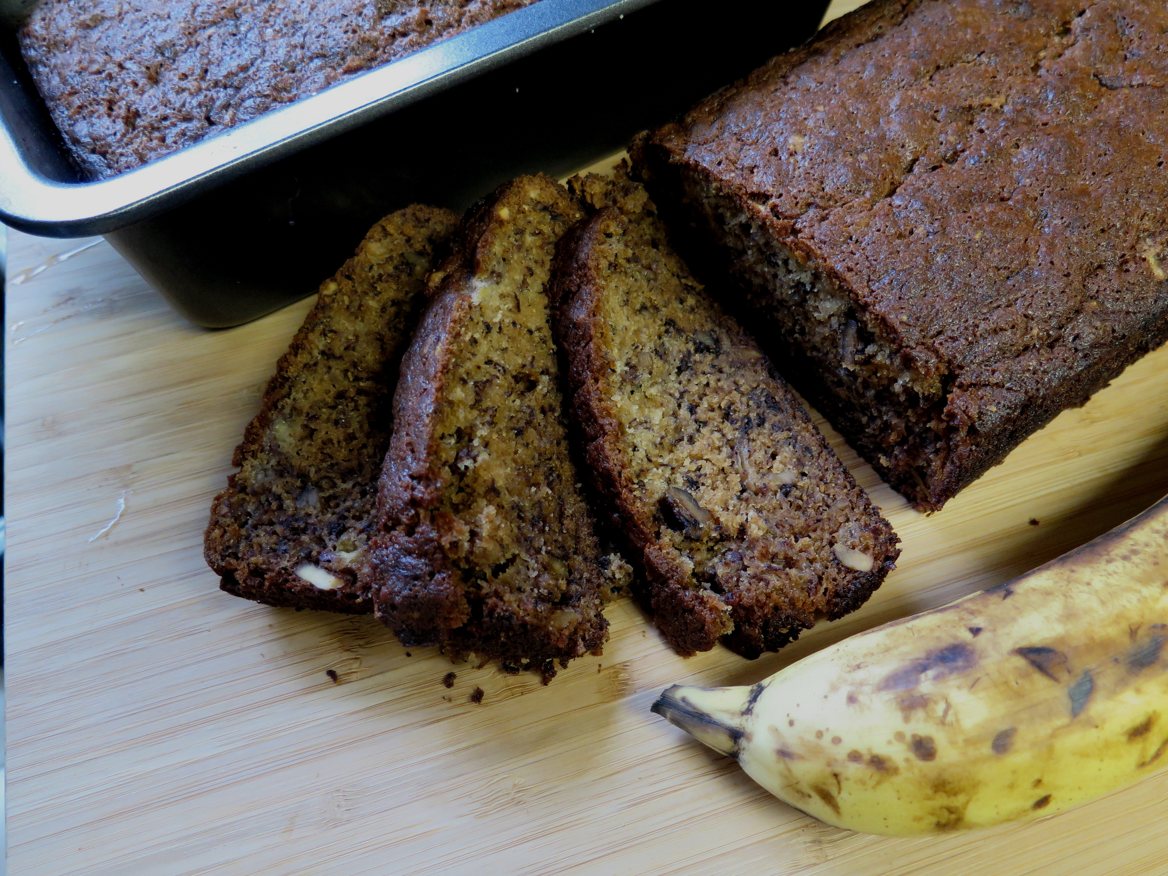 Too Many Bananas Bake Banana Nut Bread Beyondgumbo
