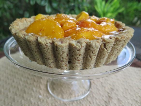 Ripe Peach Shortbread Tart - IMG_6421_1