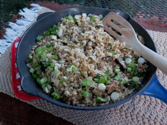 Cajun Eggplant Rice Dressing - IMG_7377_1