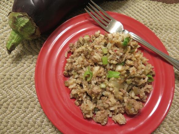 Eggplant Rice Dressing - 2 - IMG_7146