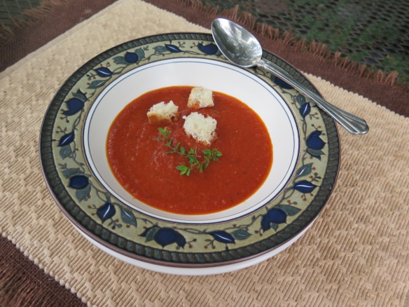 Roasted Tomato Soup - 2 - IMG_6743