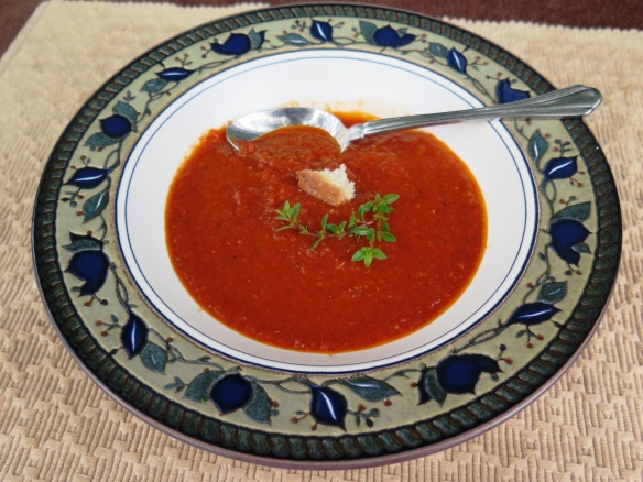 Roasted Tomato Soup - IMG_6752
