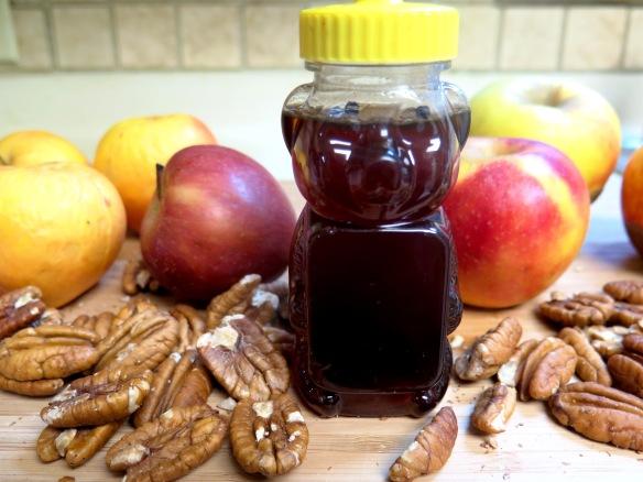Honey Apple Strudel Ingredients - IMG_7872