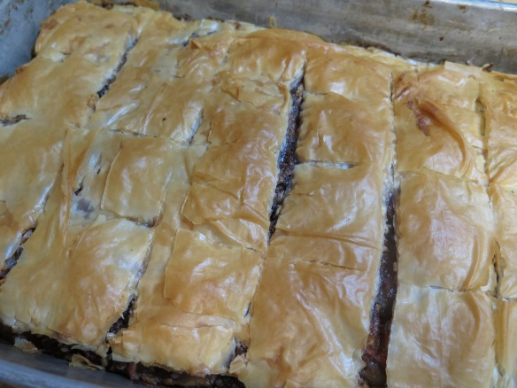 baked apple and honey fillo pastry squares - IMG_0221