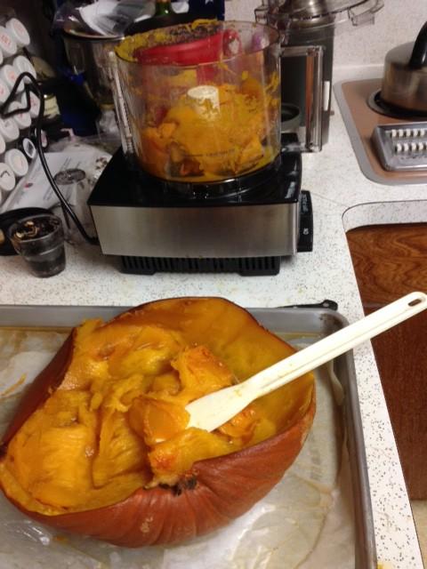 Larrys Baked Pumpkin