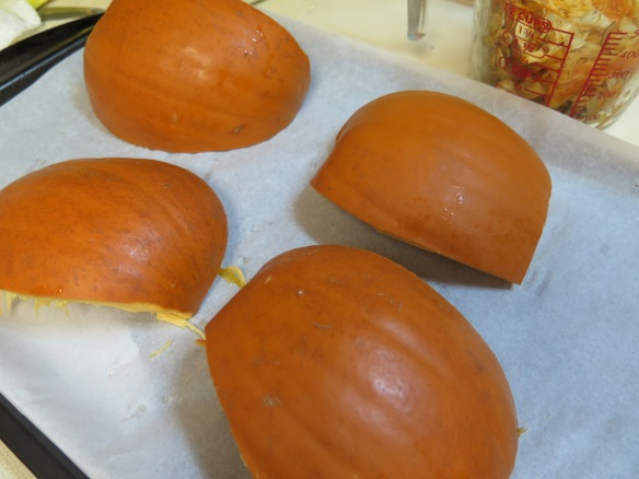 pumpkin ready for baking - IMG_0460