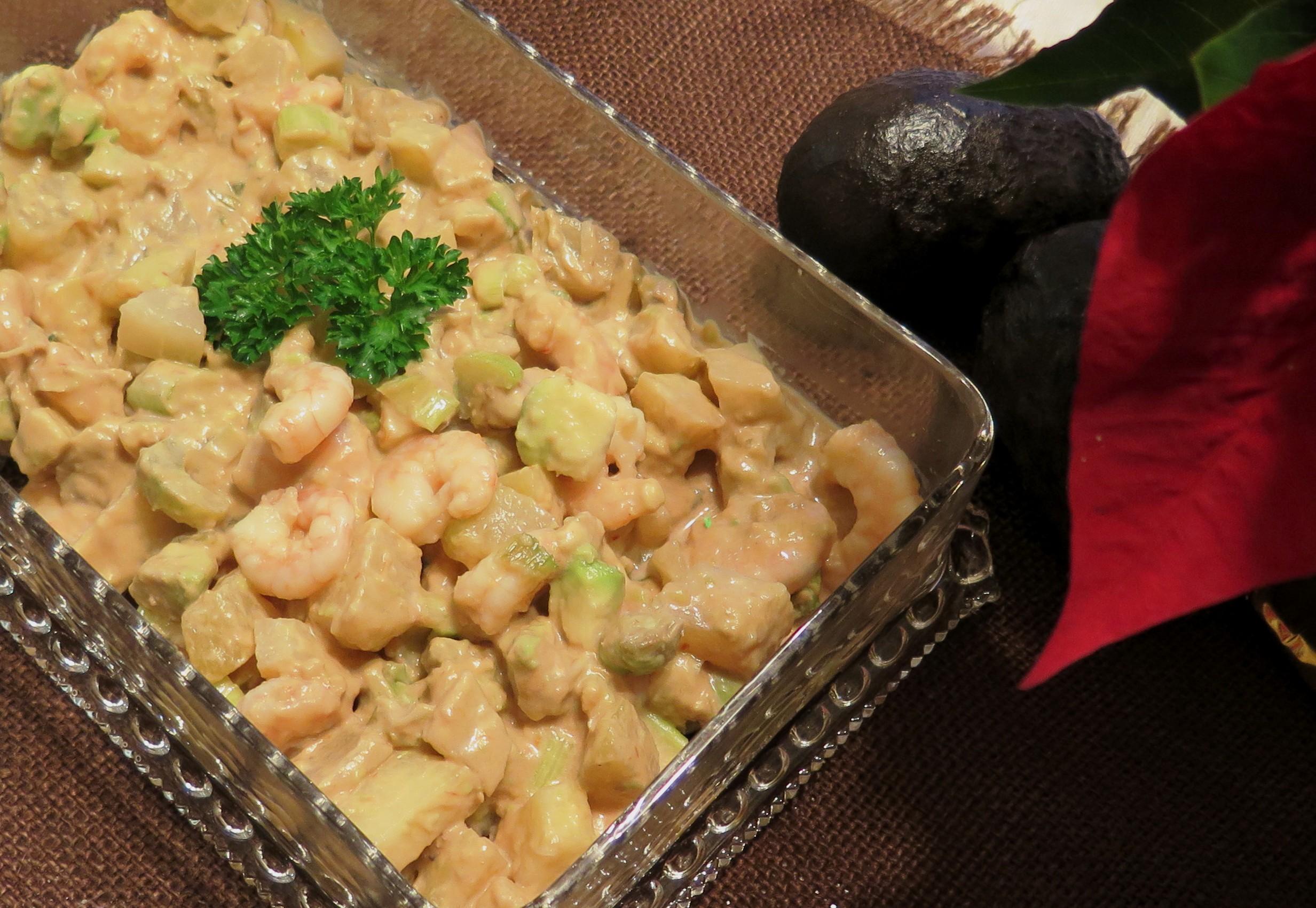 shrimp, mirliton and avocado appetizer - 2- IMG_1445_1