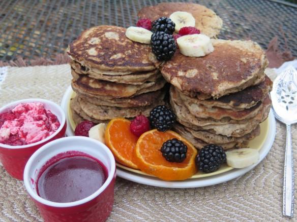 Tall Stack of Apple Walnut Whole Wheat Pancakes - IMG_0496_1