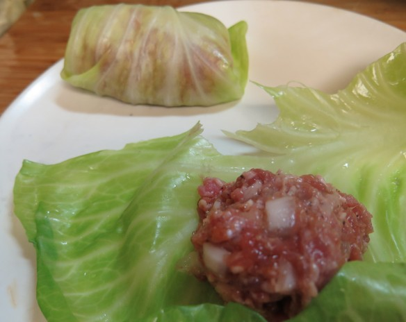 Stuffing in Cabbage Leaves - IMG_0095_1