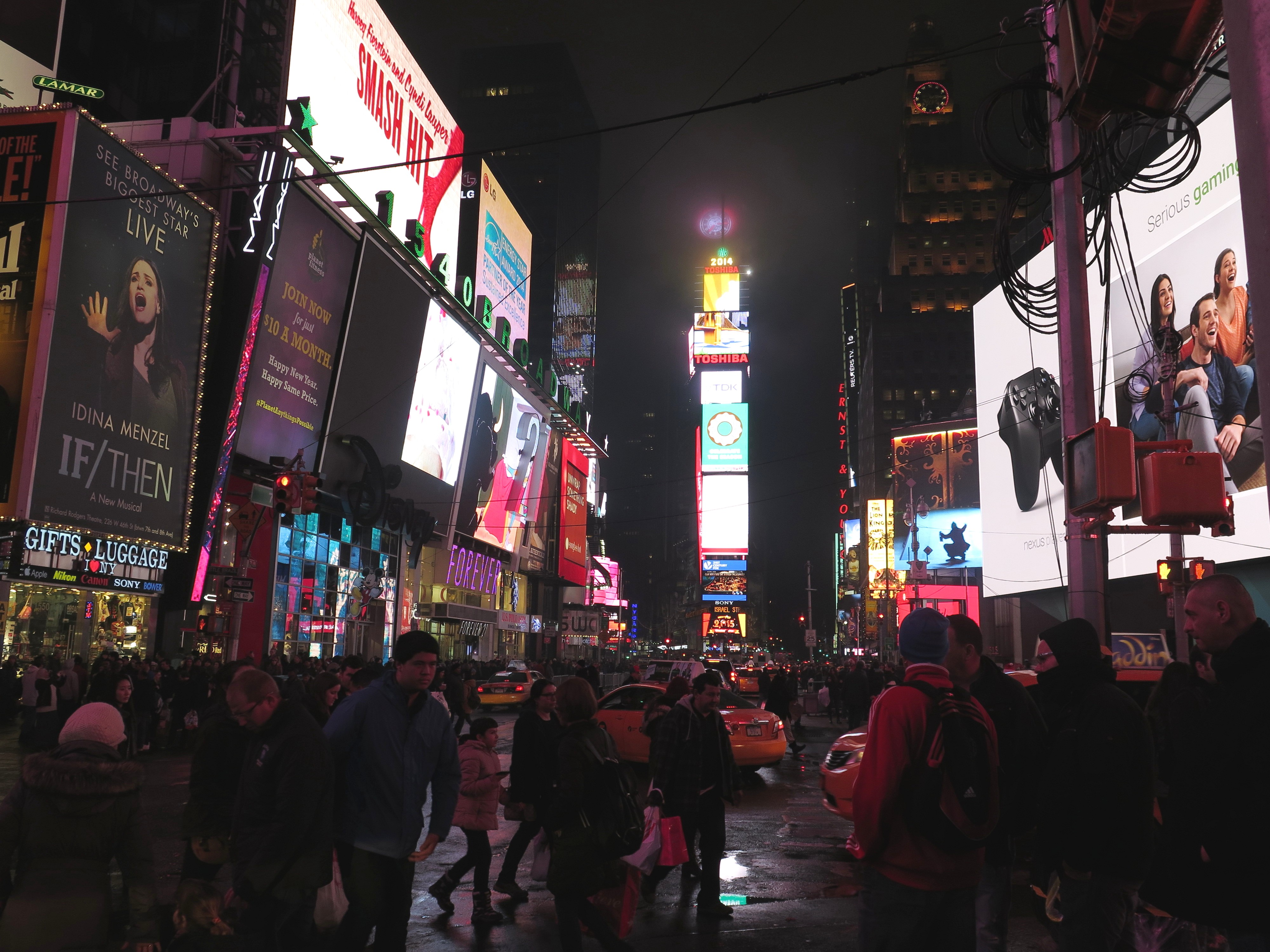 100 File Times Square New Year New Years Eve Times