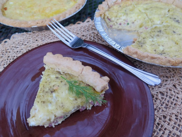 Two Christmas Brunch Quiches - IMG_1095