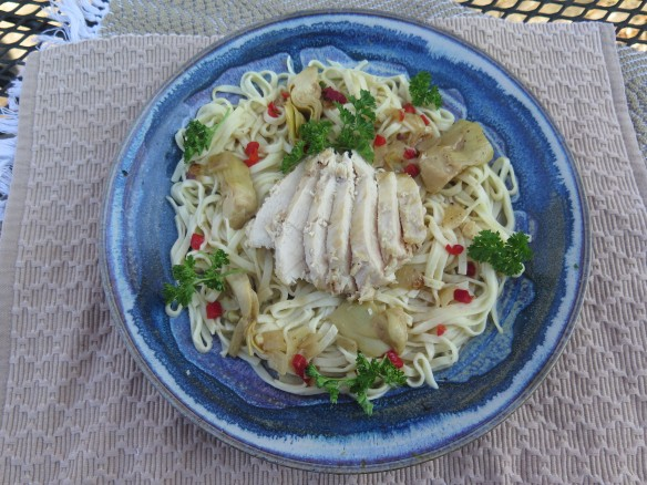 Fresh Pasta with Chicken and Artichokes - IMG_2149_1