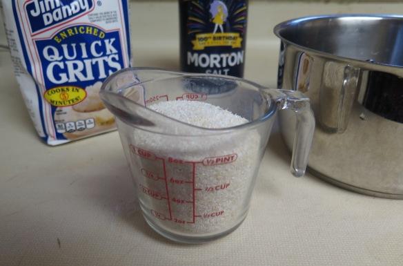 grits ingredients - IMG_1428
