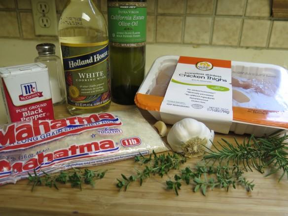 Variation on Garlic Chicken Ingredients - IMG_2789_1