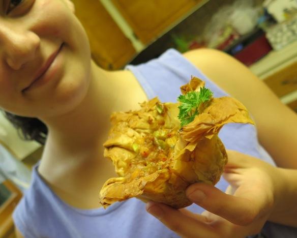 Crawfish tart - IMG_3159