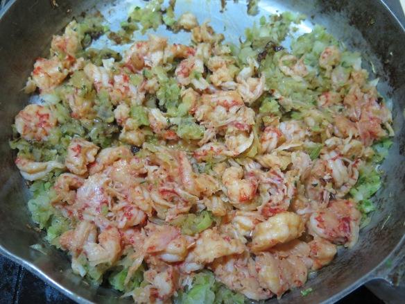 Crawfish with seasonings sauteed - IMG_3138