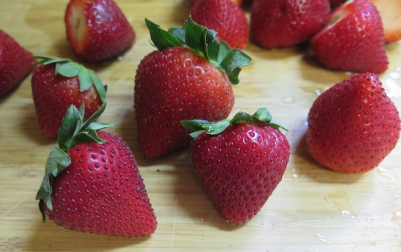 fresh strawberries - IMG_3037
