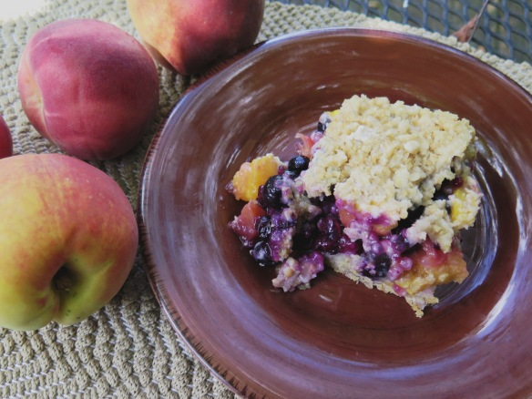 Peach & Blueberry Crunch - IMG_4044