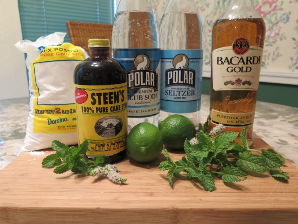 Mojito Drink Ingredients - IMG_4397