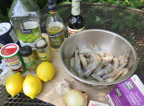 Ingredients for Emerils Barbecue Shrimp - IMG_4487