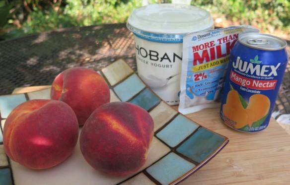 Peach and Mango Smoothie Ingredients - IMG_4510_1