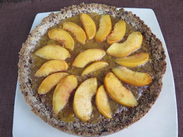 Peach Shortbread Tart - 2 - IMG_6899