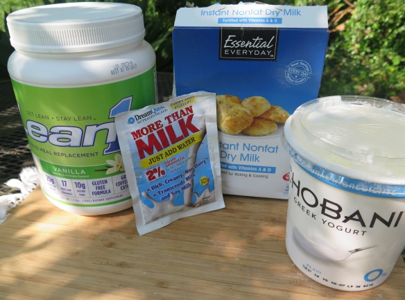 Protein Supplements and Yogurt - IMG_4524