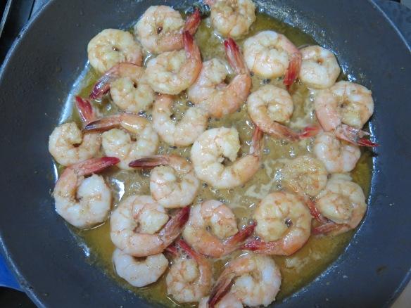 Shrimp sauteed with sauce - IMG_4653