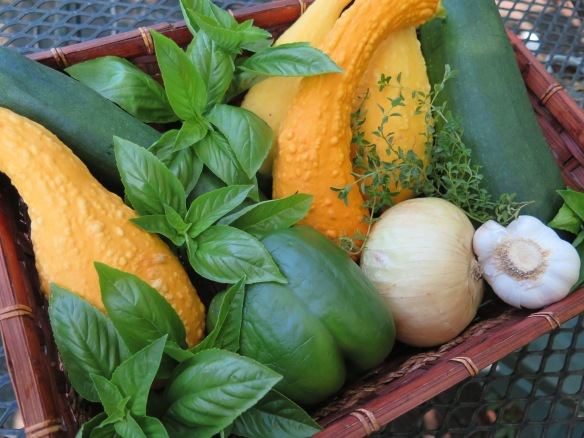 Summer Squash and Basil Medley Ingredients - 3 - IMG_4643