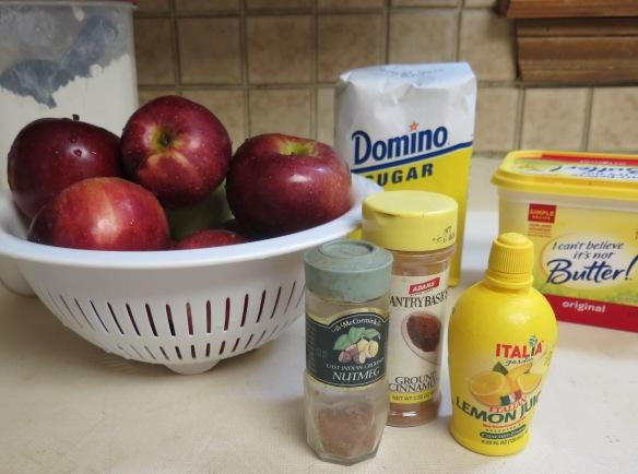Appie Pie Filling Ingredients - IMG_5532