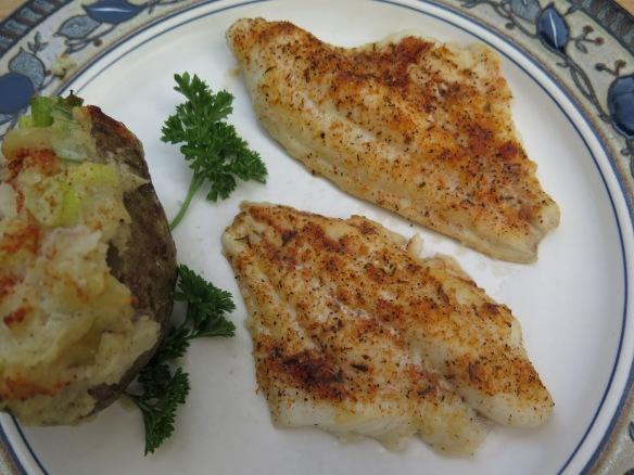 Cajun Baked Catfish - 2 - IMG_4925