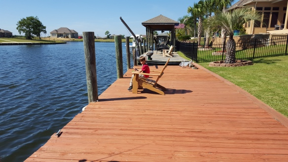 Dylan Fishing off Dock - 20151011_132037