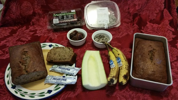 California Banana Zucchini Bread Ingredients - 20151126_090419