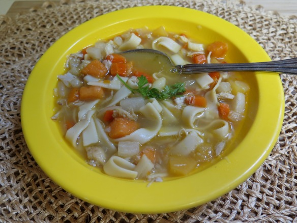 Chicken Noodle Soup with Root Vegetables - 3 - IMG_5994