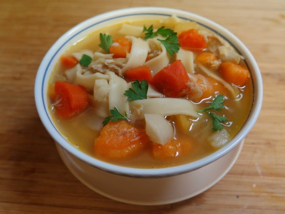 Chicken Noodle Soup with Root Vegetables - IMG_5976_1