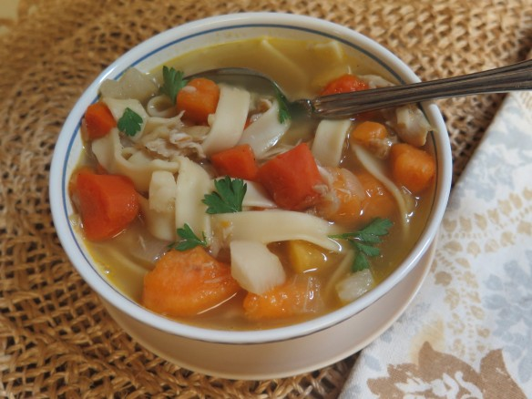 Chicken Noodle Soup with Root Vegetables - IMG_5984_1