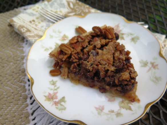 Louisiana Dark Chocolate Pecan Pie - IMG_6060
