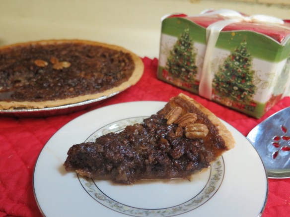 Piece of Dark Chocolate Pecan Pie Variation - 2 - IMG_6167_1