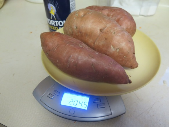 Two pounds sweet potatoes - IMG_6073
