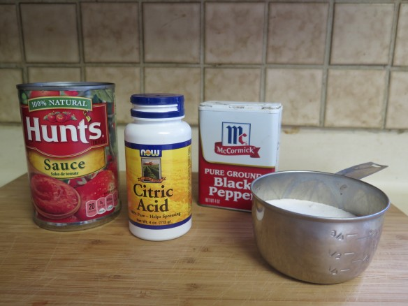 Sauce ingredients and citric acid - IMG_6572_1
