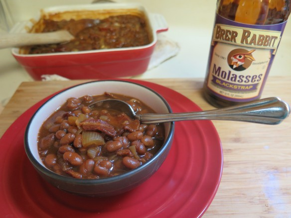 Blackstrap Molasses Baked Beans - IMG_6851_1
