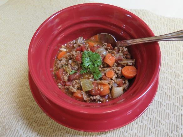 Savory Vegetable Beef Soup - IMG_3696